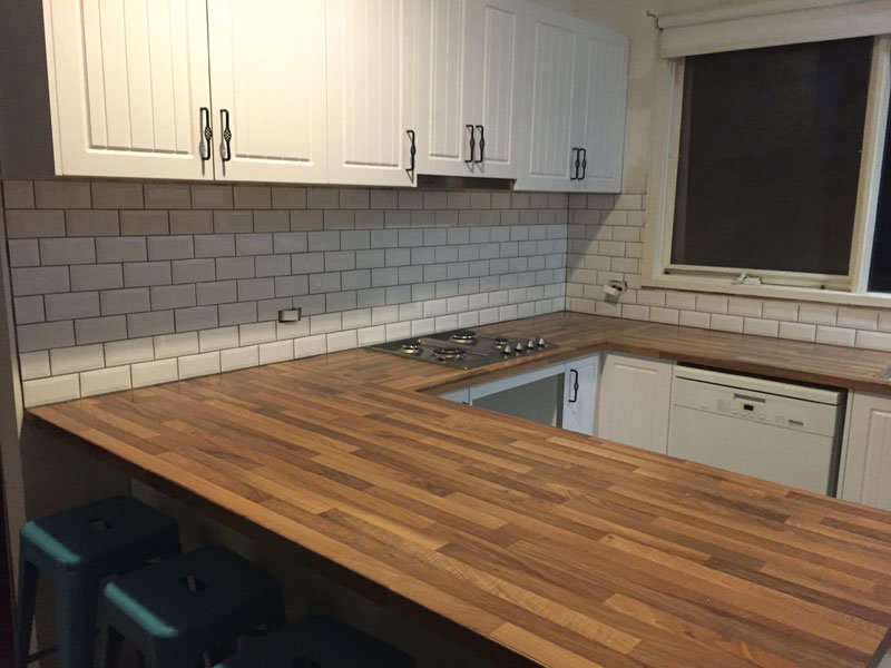 Complete Kitchen Tiled Splashbacks